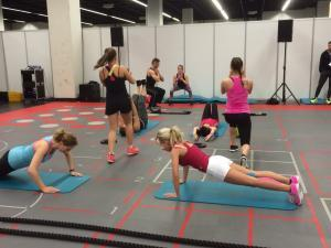 Fibo 2015 Kön BodyCROSS Functional Training
