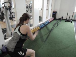 Battle Rope oder Kraftseil im Zirkeltraining