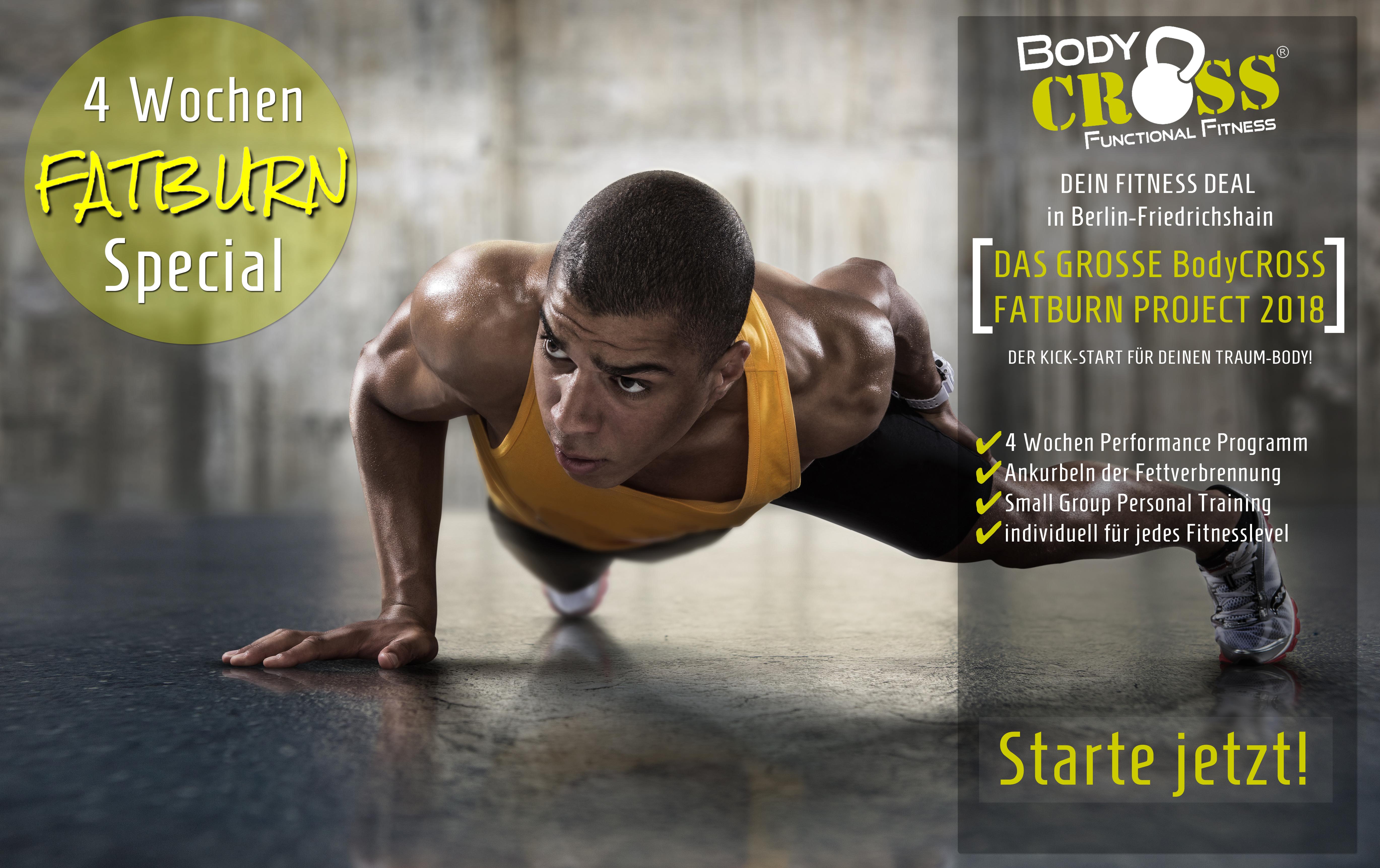 BodyCROSS Berlin Fatburn Project