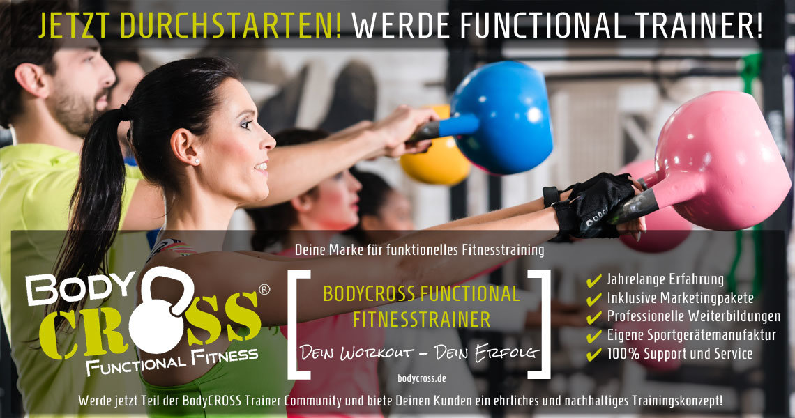 BodyCROSS Functional Trainer Ausbildung