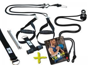 BodyCROSS Slingtrainer Bundle – inklusive Trainingsbuch!