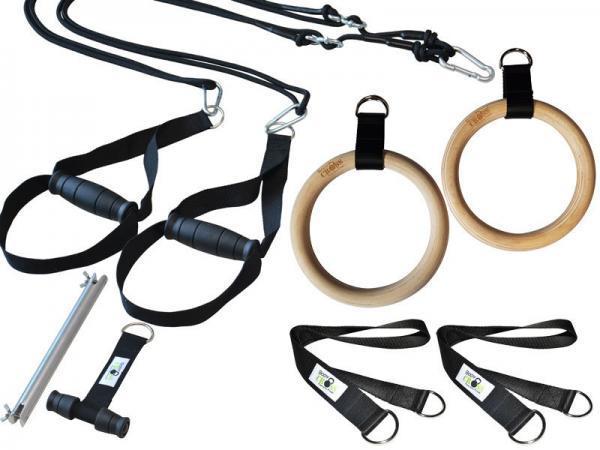 BodyCROSS Slingtrainer mit Turnringen