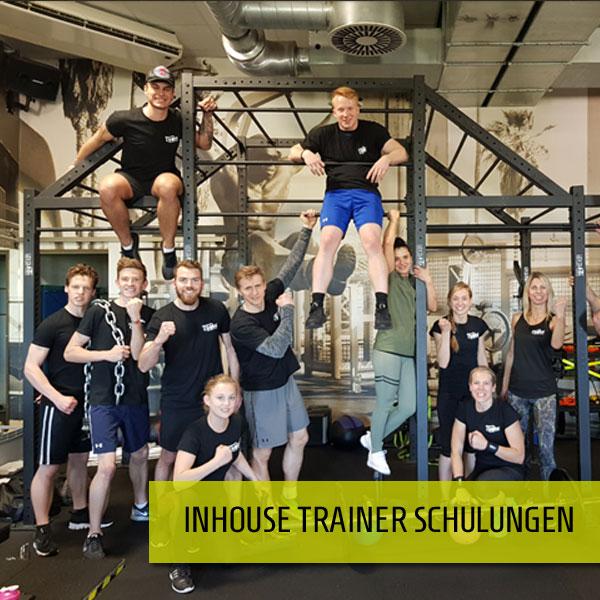 Inhouse Fitness Schulungen