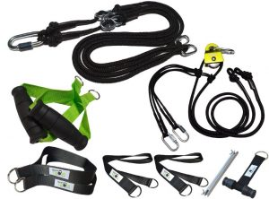 BodyCROSS Slingtrainer Bundle – inklusive Umlenkrolle